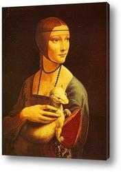 Картина Дама с горностаем