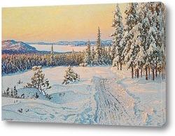 Постер Зимний день рядом с Людвикой