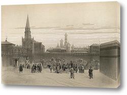 Картина Троицкий речной порт, 1840