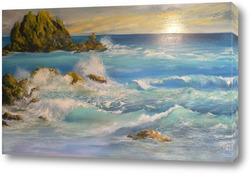 Картина Морской прибой