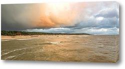 Закат в Балтийском море