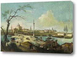 Венеция. Гранд Канал с мостом