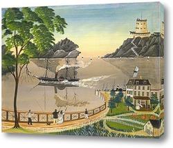 Картина Почтовый корабль