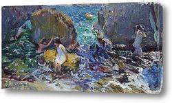 Картина Дети на берегу, Хавеа