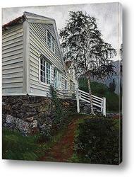 Картина Дом пастора