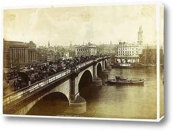 Постер Лондонский мост, 1880