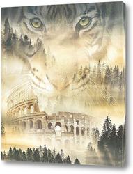 Постер Колизей Древнего Рима
