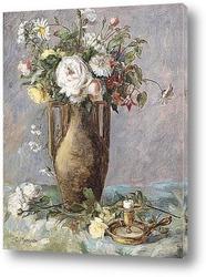 Цветы с книгой