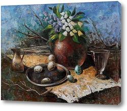Картина Пасхальный натюрморт
