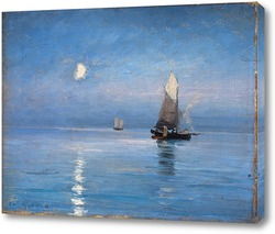 Картина Рыболовные ножи в лунную ночь