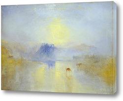 Подход к Венеции, 1844