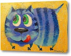 Картина Хитрый кот