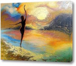 Танец на закате