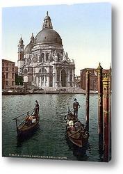 Постер Санта-Мария-делла-Салюте, Венеция