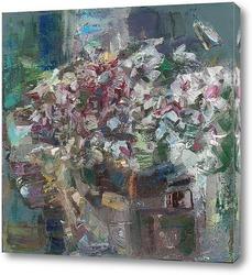 Картина букет. импрессионизм