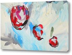 Картина Три яблочка