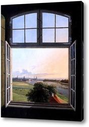 Картина Вид на Дрезден