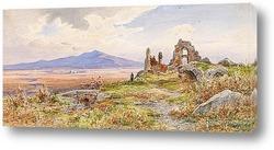 Картина Римская сельская местность
