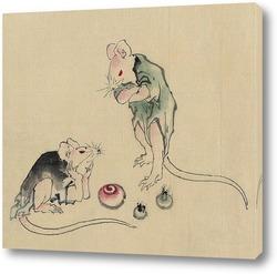 Картина Две мышки