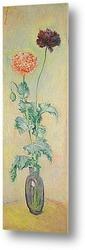 Белые Азалии в горшке, 1882-85