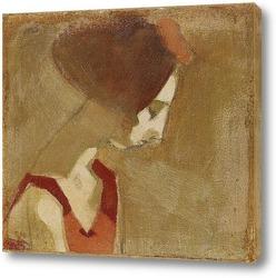 Картина Девушка с лебединой шеей