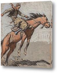 Постер Бронко Бастер, 1920