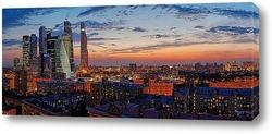 Сумерки над Москвой