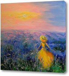 Картина Лавандовые сны