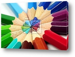 Постер Colored pencils