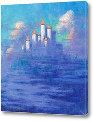 Картина Замок в облаках
