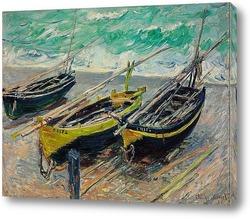 Картина Три рыбацкие лодки