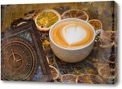Картина Время для кофе
