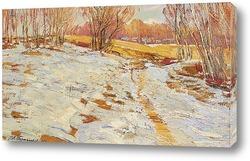 Постер Тающий снег 1921