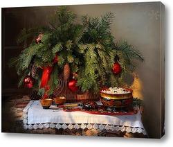 Постер В праздник Рождества