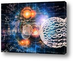 Постер Математика фон