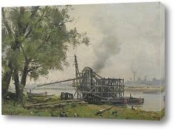 Картина Сена в Руане