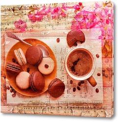 Картина Кофе и музыка