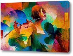 Постер Флейтистка