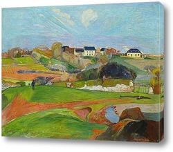 Картина Пейзаж в Ле Полду