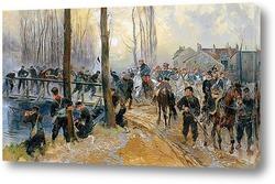 Смотр войск Николаем II