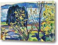 Постер Фьорд пейзаж