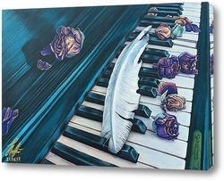 Старое пианино.