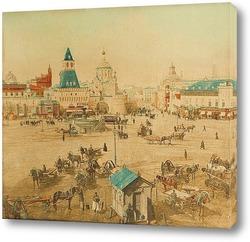 Картина Лубянская площадь