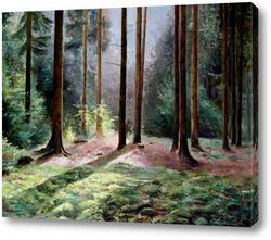 Картина Звуки леса