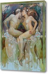 Постер Адам и Ева