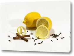 Картина Лимон со специями