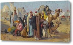 Картина Арабский рынок