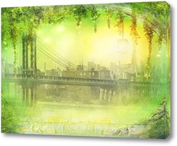 Постер Сказочный мост