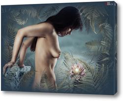 Картина Цветок папоротника