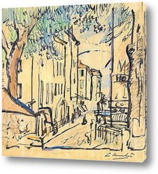 Постер Улица в Провансе